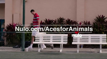 Nulo TV Spot, 'Aces for Animals' Featuring John Isner - Thumbnail 6