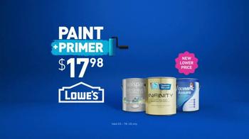 Lowe's Paint Away Event TV Spot, 'So Many Blues' - Thumbnail 9
