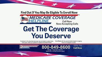 Medicare Coverage Helpline TV Spot, 'Additional Benefits'