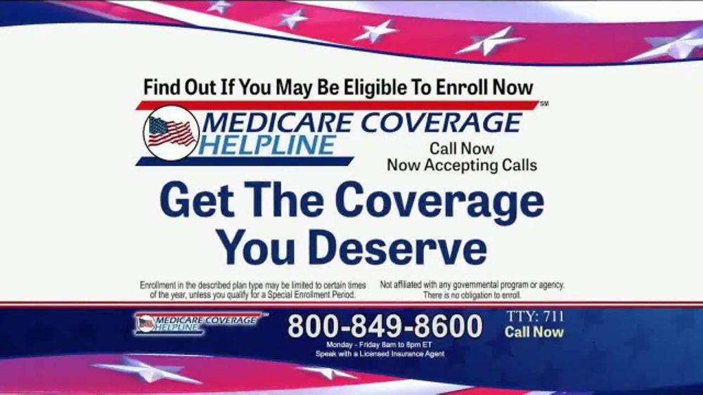 Medicare Coverage Helpline TV Commercial, 'Additional Benefits'