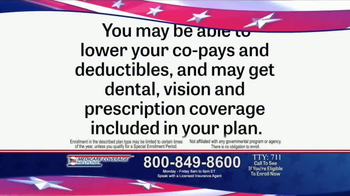 Medicare Coverage Helpline TV Spot, 'Additional Benefits' - Thumbnail 1