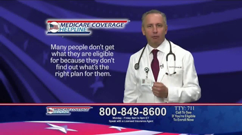 Medicare Coverage Helpline TV Spot, 'Additional Benefits' - Thumbnail 6