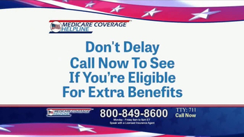 Medicare Coverage Helpline TV Spot, 'Additional Benefits' - Thumbnail 7