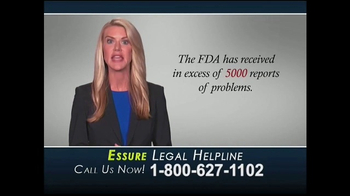 Cowper Law TV Spot, 'Essure Legal Helpline' - Thumbnail 2