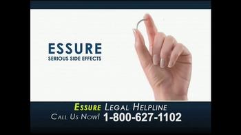 Cowper Law TV Spot, 'Essure Legal Helpline' - Thumbnail 3