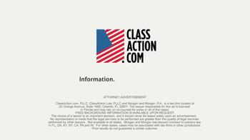 ClassAction.com TV Spot, 'Talcum Powder & Ovarian Cancer' - Thumbnail 8
