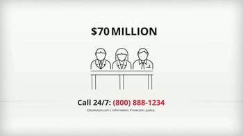 ClassAction.com TV Spot, 'Talcum Powder & Ovarian Cancer' - Thumbnail 4