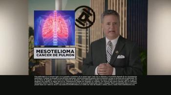 Los Defensores TV Spot, 'Mesotelioma: cáncer de pulmón' [Spanish] - Thumbnail 1