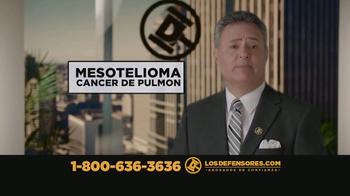 Los Defensores TV Spot, 'Mesotelioma: cáncer de pulmón' [Spanish] - Thumbnail 2