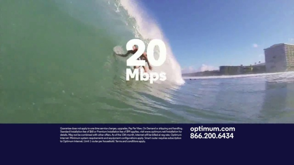 Optimum Internet TV Commercial, 'Some Things Are Too Fast'
