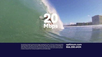 Optimum Internet TV Spot, 'Some Things Are Too Fast'