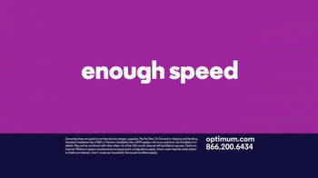 Optimum Internet TV Spot, 'Some Things Are Too Fast' - Thumbnail 4