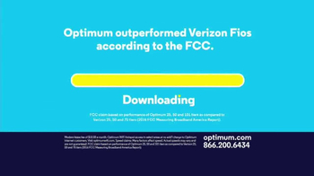 Optimum Internet TV Spot, 'Some Things Are Too Fast' - Thumbnail 6
