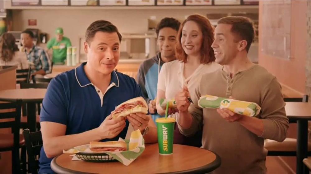Subway Italian Hero Sandwich TV Commercial, 'The Sandwich King' Feat. Jeff Mauro
