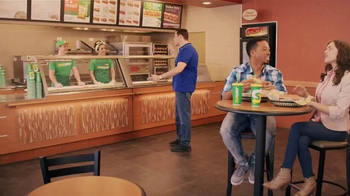 Subway Italian Hero Sandwich TV Spot, 'The Sandwich King' Feat. Jeff Mauro - Thumbnail 1