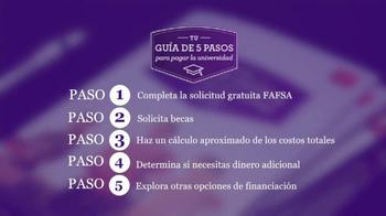 Wells Fargo TV Spot, 'Guía de 5 pasos para pagar la universidad' [Spanish] - Thumbnail 6