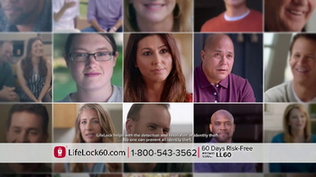 LifeLock TV Spot, 'Faces V4.1A'