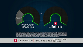 LifeLock TV Spot, 'Faces V4.1A' - Thumbnail 7