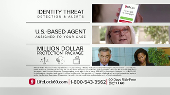 LifeLock TV Spot, 'Faces V4.1A' - Thumbnail 9