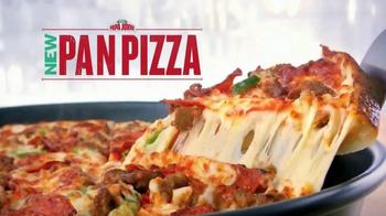 Papa John's Pan Pizza TV Spot, 'Perfect Bite' - 35 commercial airings