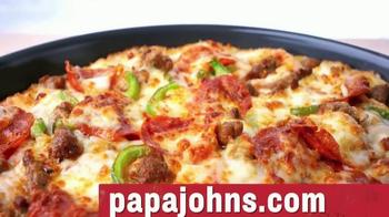 Papa John's Pan Pizza TV Spot, 'Perfect Bite' - Thumbnail 9