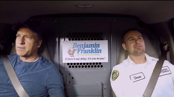 Benjamin Franklin Plumbing TV Spot, 'On-Time Guarantee' Featuring Mike Rowe
