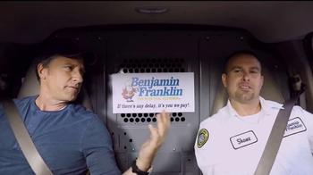 Benjamin Franklin Plumbing TV Spot, 'On-Time Guarantee' Featuring Mike Rowe - Thumbnail 7