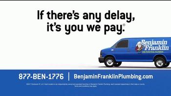 Benjamin Franklin Plumbing TV Spot, 'On-Time Guarantee' Featuring Mike Rowe - Thumbnail 9