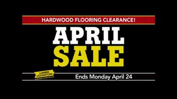 Lumber Liquidators April Sale TV Spot, 'Small Lots' - Thumbnail 6