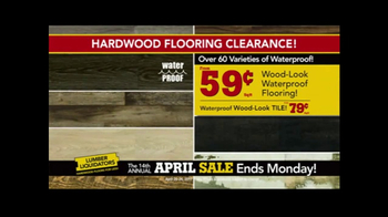 Lumber Liquidators April Sale TV Spot, 'Small Lots' - Thumbnail 3