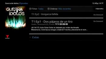 XFINITY On Demand TV Spot, 'Telemundo: Guerra de Ídolos' [Spanish] - Thumbnail 3