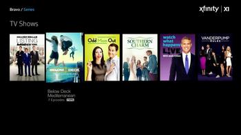 Xfinity X1 TV Spot, 'Bravo Shows' - Thumbnail 3