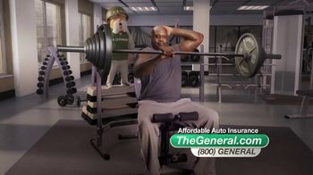 The General TV Spot, 'Weightlifting' Featuring Shaquille O'Neal - 14562 commercial airings
