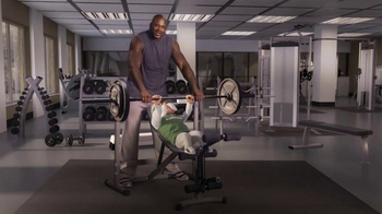 The General TV Spot, 'Weightlifting' Featuring Shaquille O'Neal - Thumbnail 1