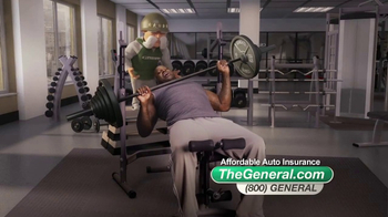 The General TV Spot, 'Weightlifting' Featuring Shaquille O'Neal - Thumbnail 5