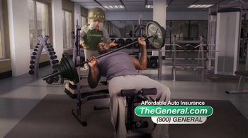 The General TV Spot, 'Weightlifting' Featuring Shaquille O'Neal - Thumbnail 6