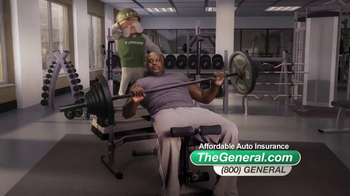 The General TV Spot, 'Weightlifting' Featuring Shaquille O'Neal - Thumbnail 7