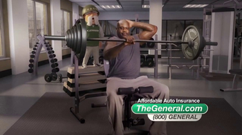 The General TV Spot, 'Weightlifting' Featuring Shaquille O'Neal - 14563 commercial airings