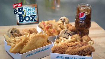 Long John Silver's $5 Reel Deal Box TV Spot, 'New Chicken Tenders' - Thumbnail 2