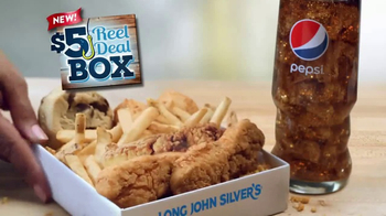 Long John Silver's $5 Reel Deal Box TV Spot, 'New Chicken Tenders' - Thumbnail 6