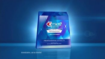 Crest 3D White Luxe Professional Effects Whitestrips TV Spot, 'No-Slip' - Thumbnail 10
