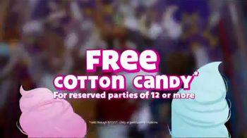 Chuck E. Cheese's TV Spot, 'Free Cotton Candy'