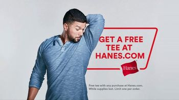 Hanes With Fresh IQ TV Spot, 'End the Smellfie: Free Tee' - Thumbnail 8