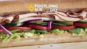 Subway TV Spot, 'Footlong Sub of the Day' - Thumbnail 2