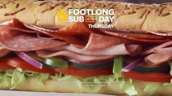 Subway TV Spot, 'Footlong Sub of the Day' - Thumbnail 3