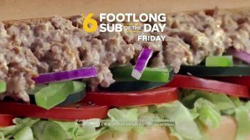Subway TV Spot, 'Footlong Sub of the Day' - Thumbnail 4