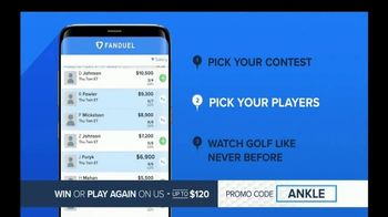 FanDuel Golf TV Spot, 'Inside Scream' - Thumbnail 7