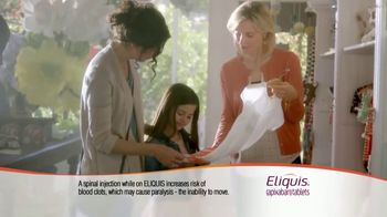ELIQUIS TV Spot, 'A Lot on My Mind' - Thumbnail 7