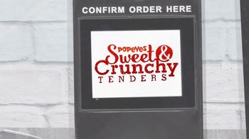 Popeyes Sweet & Crunchy Tenders TV Spot, 'TBS: Drive-Thru' - Thumbnail 10