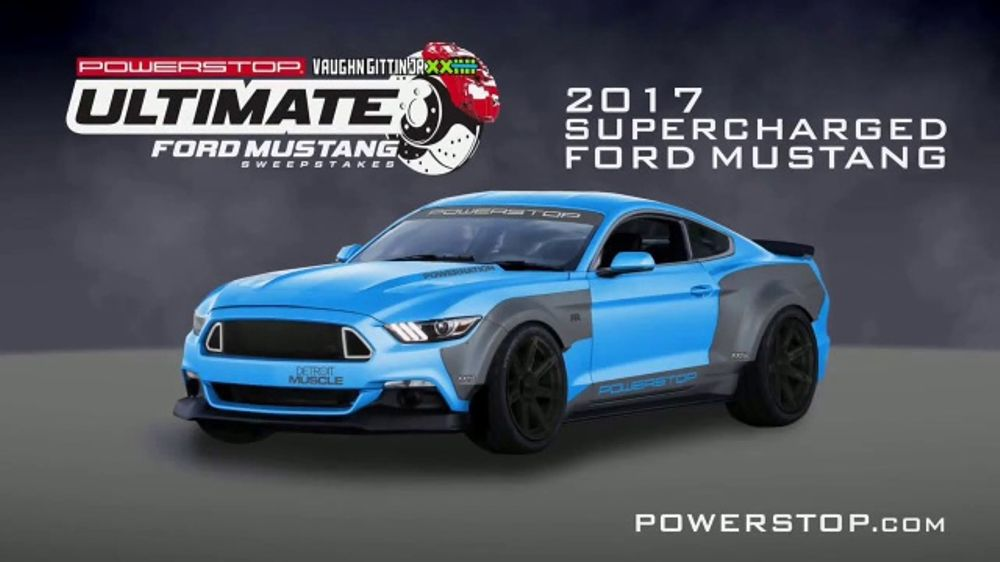e6fbcf79 Powerstop Ultimate Ford Mustang Sweepstakes TV Commercial, 'Ultimate Pony  Car' - iSpot.tv